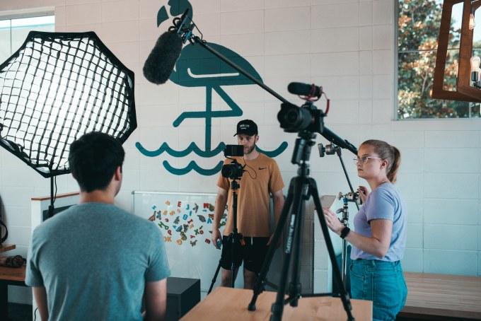 Gravações com Camera de filmar