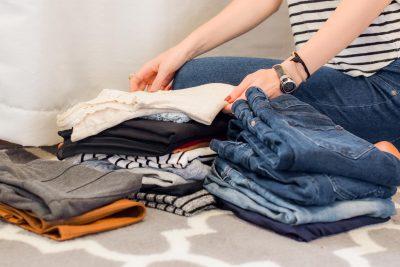 Escolha de roupa